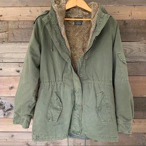 Zara Jacket Faux Fur Lining